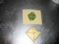 Zalm - Spinazie broodjes