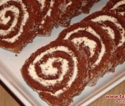 Chocolade-cakerol
