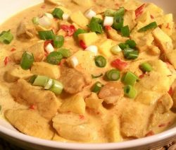Kip madras koken zonder pakjes en zakjes