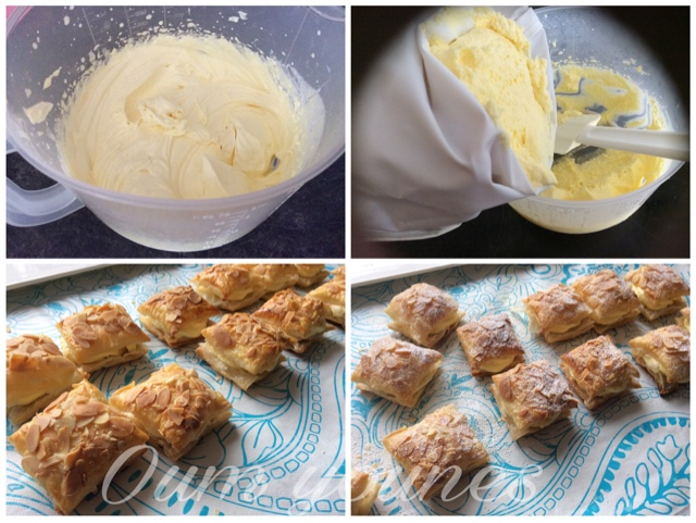 Bladerdeeg met pudding - Bereidingsfotos 1