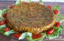 Tortillataart uit de oven